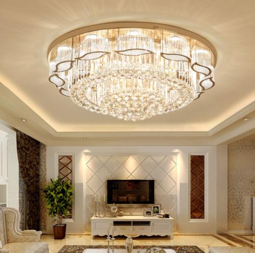 Details About K9 Crystal Led Chandelier Luxury Ceiling Light Home Pendant Lighting Fixtures