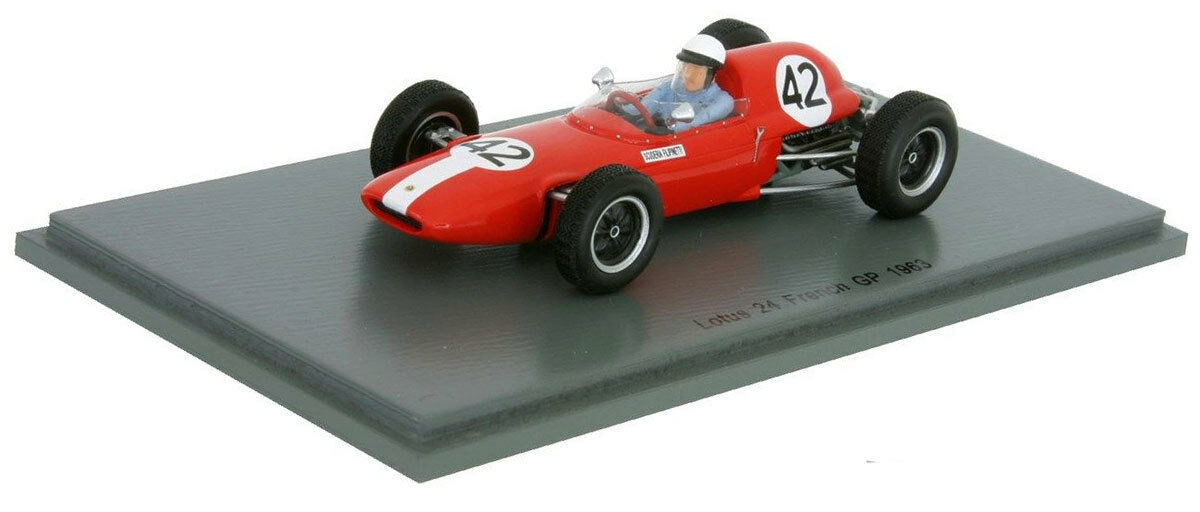 Spark S4822 Lotus 24 French GP 1963 - - - Phil Hill 1 43 Scale 39c1e8