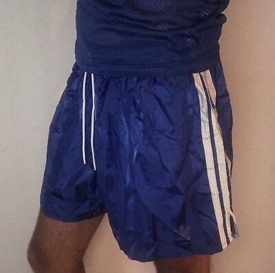 adidas nylon shorts vintage
