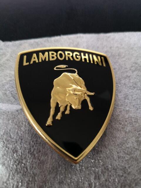 Oem Original Lamborghini Aventador Emblem Logo Front Bumper