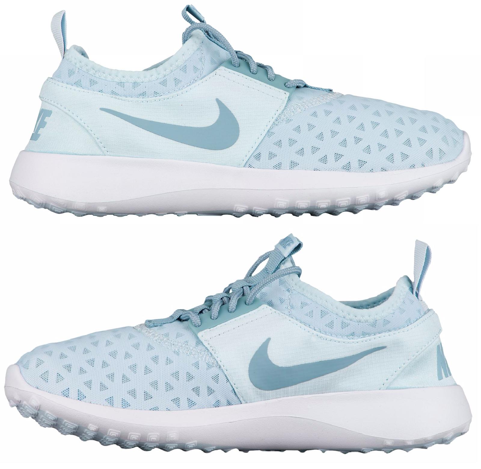 Nike Juvenate Freizeit Damen Freizeit Juvenate Netz Gletscher Blau - Mica - Weiß Authentisch Neu 213439