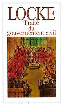 Traité du gouvernement civil von John Locke | Buch | Zustand akzeptabel
