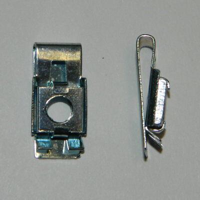 10 Stück Blechmuttern Schnappmuttern clip nuts Edelstahl A2 M6 Klemmmuttern