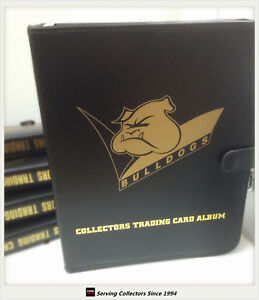 NRL-CLUB-Collectors-Trading-Card-3-Ring-Album-10-pages-CANTERBURY-BULLDOGS