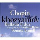 Frederic Chopin - Chopin: Ballada F-dur; Scherzo E-dur; Nokturn H-dur; Sonata b-moll (2012)