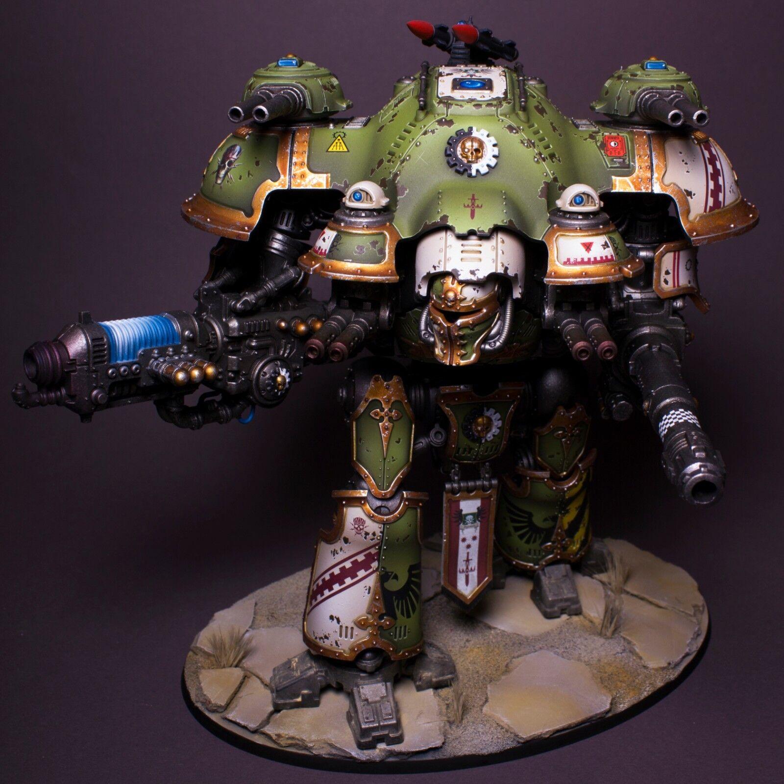 Imperial Caballero Castellan Pro Pintado, Magnetizada-James Wallace (ambos conjuntos de armas)