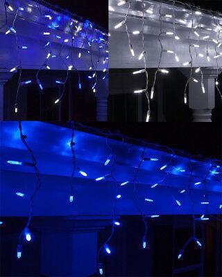 Ben Informato 200 Led Indoor Outdoor Luci Ghiacciolo Nevicando Natale Giardino Festa Di Nozze-mostra Il Titolo Originale