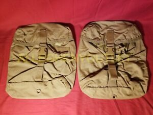 NEW Lot of 2 US Military USMC FILBE SUSTAINMENT POUCH Propper MOLLE Coyote NIB