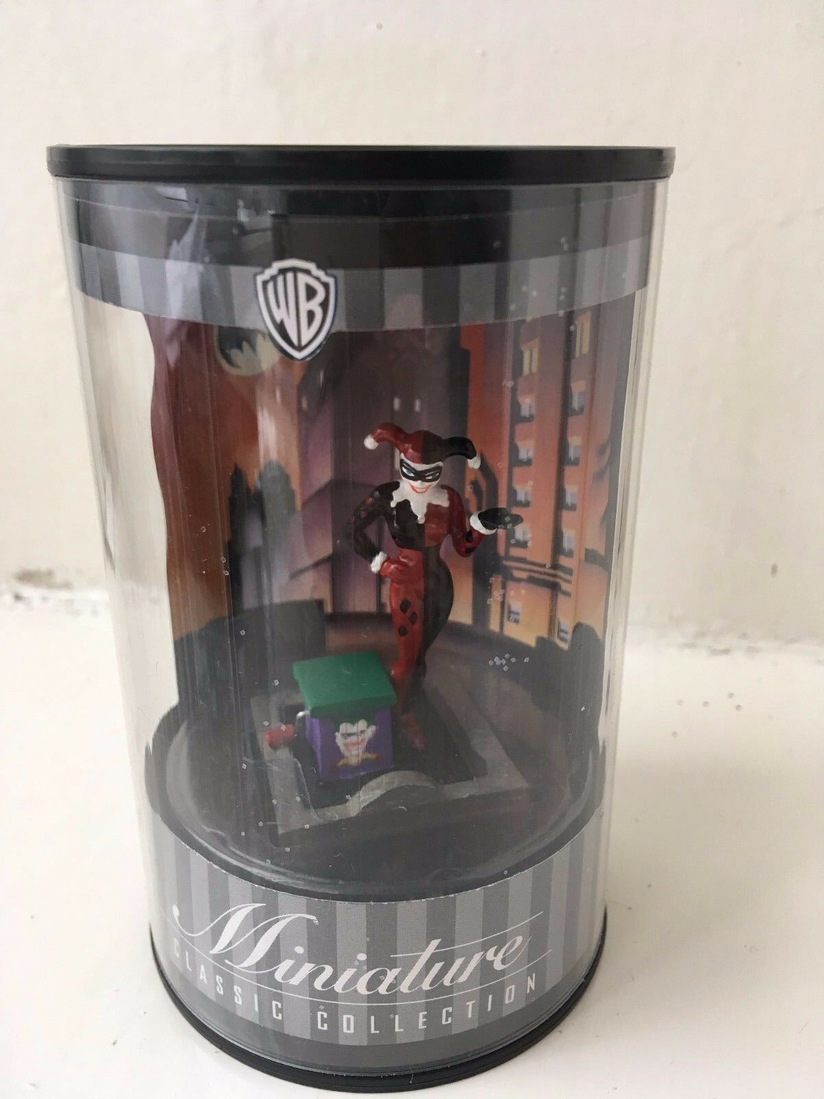 2.5  WARNER WARNER WARNER BROS MINIATURE CLASSIC COLLECTION HARLEY QUINN STATUE FIGURE BATMAN fcaf4d