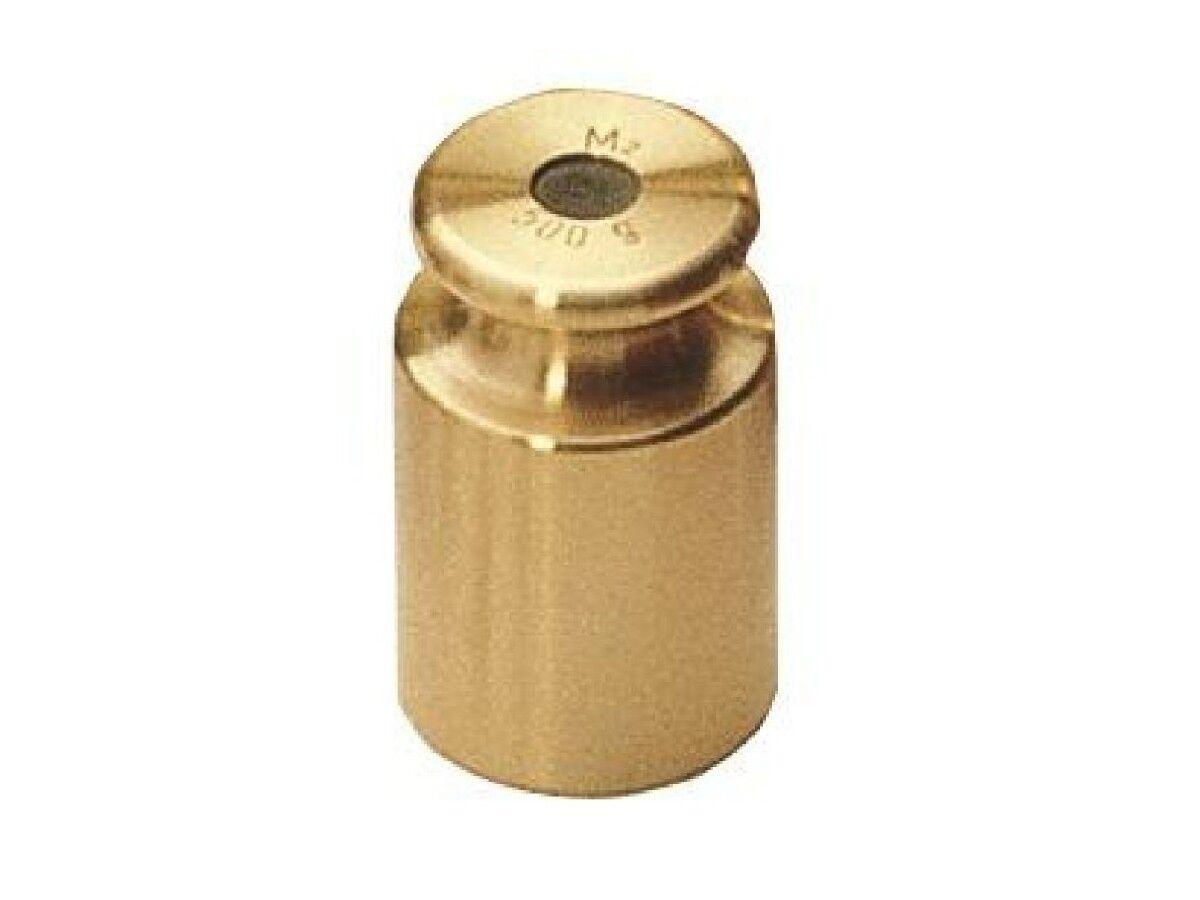 Peso di Prova M2 Peso 10 kg Ottone Tornitura di Precisione Kern 357-54