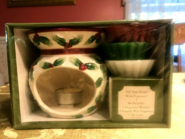 Yankee Candle Christmas Tea cup /& Saucer Votive Holder NEW Ceramic Gift Box