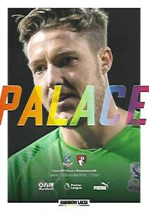 Crystal-Palace-v-Bournemouth-3rd-December-2019-Match-Programme-2019-2020