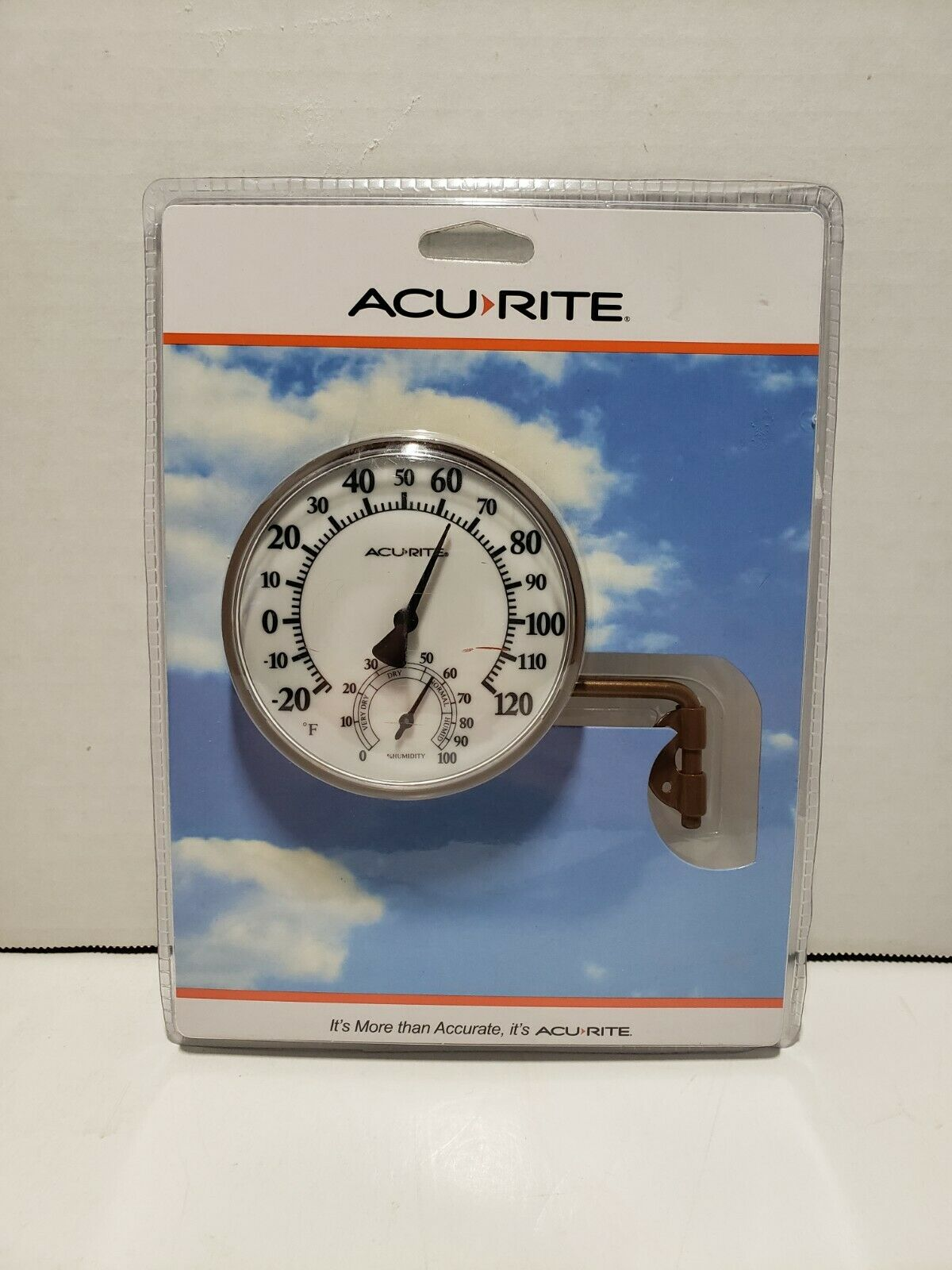 Acurite Swivel Thermometer With Hygrometer 3.5