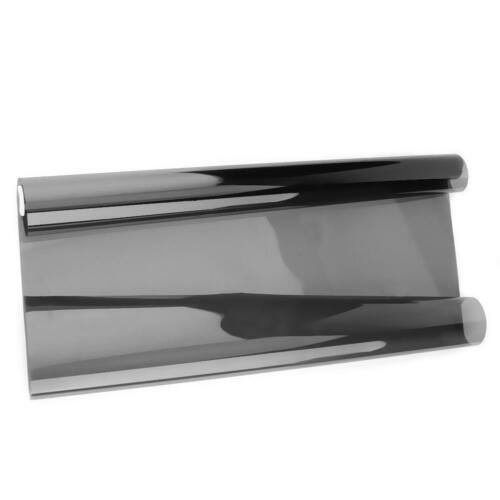 Black 1mx50cm VLT Car Home Glass Window Tint Tinting Film Roll with Scraper