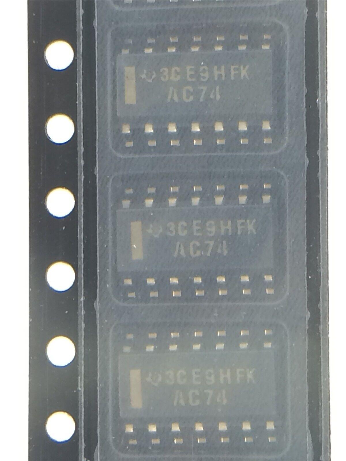 2 74LS SMD SO14 TEXAS INSTRUMENTS 2X SN74LS74AD IC digital Flipflop D Kanäle