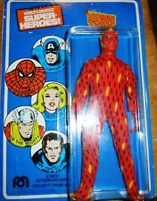 1975 Mego Human Torch MOC - American Card