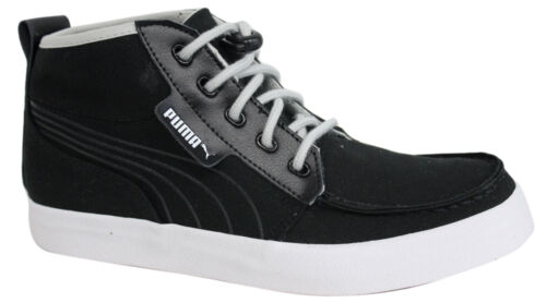 Declaración Juicio base  Puma Hawthorne Mid Mens Bungee Cord Black Canvas Shoes Trainers 352971 02  D75 PUMA Suede Series Athletic Shoes for Men Men's Athletic Shoes