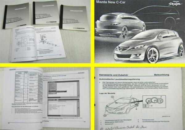 4x Mazda Karosserie Airbag Elektrik Mesi Schulung Training Werkstatthandbuch Levendig En Geweldig In Stijl