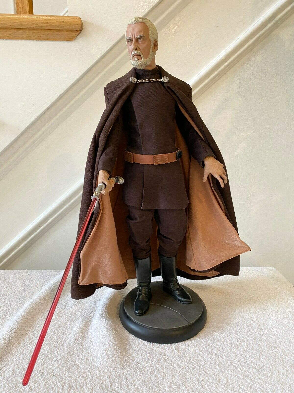 SIDESHOW STAR WARS COUNT DOOKU PREMIUM FORMAT FIGURE RARE 153/750 on eBay thumbnail