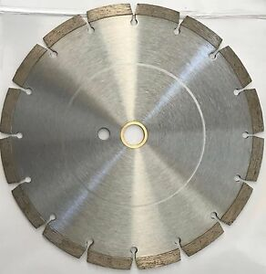10 Inch Dry Or Wet Segmented Saw Blade With 1 Inch Arbor