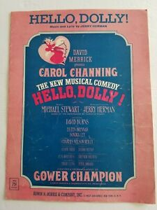 Hello-Dolly-1963-Sheet-Music-By-Jerry-Herman