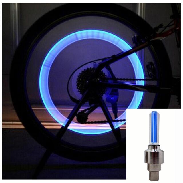 2Pcs Reifen Rad Licht Lampe Ventilkappe Ventil Leuchte für Fahrrad Motorrad