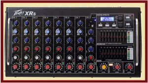 PEAVEY-XR-S-Rack-Mountable-Powered-8-Channel-Mixer-w-Bluetooth-USB-XRS