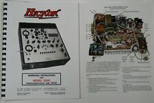 Usa Hickok 539c Ultimate Tube Tester Manual Withcolor Pictures Schematic