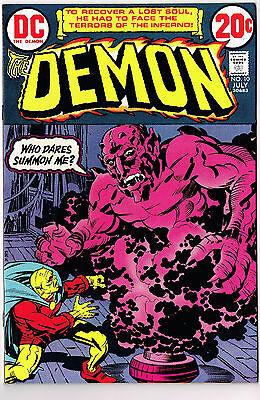 THE DEMON #10 DC COMICS 1973 NM- JACK KIRBY SORCERY