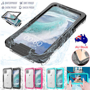 For iPhone XR XS 11 Pro Max Waterproof Shockproof Diving Underwater Case Cover