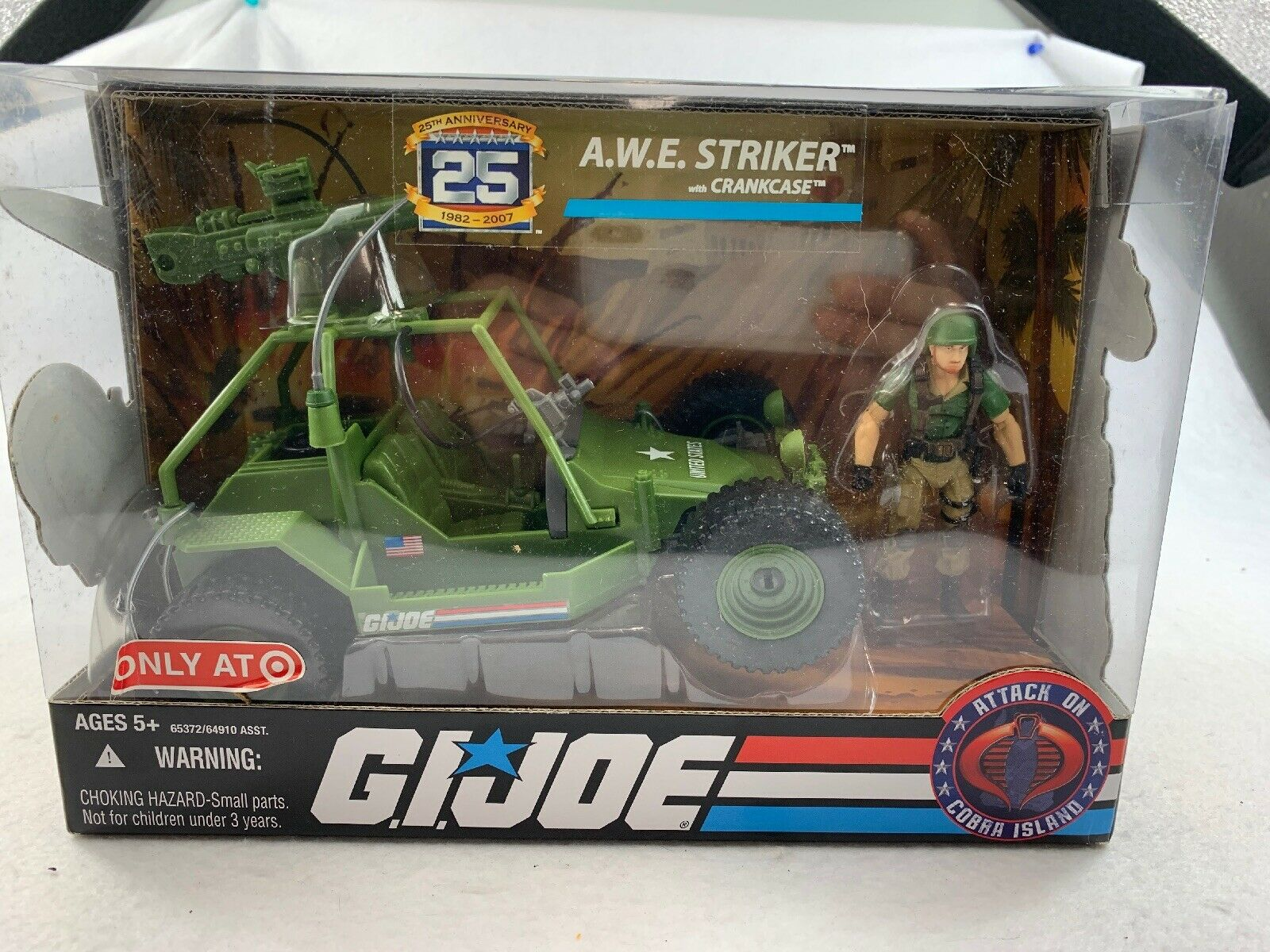 Gi Joe A.w.e Striker With Crankcase Sealed In Great Condition