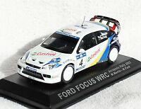 Ford Focus Wrc Rally 2003 4 Blister 1:43 Ixo/alt Modellauto / Die-cast