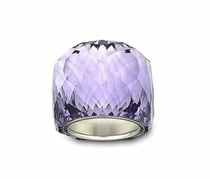 8931c95f0d87d0 Image is loading NIB-199-Swarovski-Large-Nirvana-Ring-Tanzanite-Violet-
