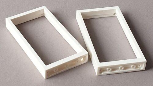 LEGO Zubehör Fenster 1x4x6 AUSWÄHLEN TOP Tür Rahmen 1x2x2 1x2x3 1x4x3