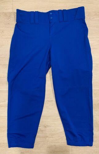 Azul Real Para Mujer Under Armour RBI Softbol de baja altura Pantalones Capri ** ** Tamaño L