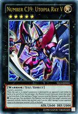 Yugioh YS13-ENV01 Number C39: Utopia Ray V Ultra Rare Card