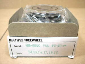 New-Old-Stock-Suntour-Pro-Compe-Ultra-6-Speed-Freewheel-14x21-w-Silver-Finish