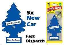 "MAGIC TREE ""LITTLE TREE"" NEW CAR FRAGRANCE CAR AIR FRESHENER PACK OF 5"