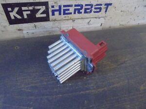heater resistor Skoda Octavia 1U 1J0907521 1.9TDi 81kW AHF 158428 - AT, Österreich - Rücknahmen akzeptiert - AT, Österreich