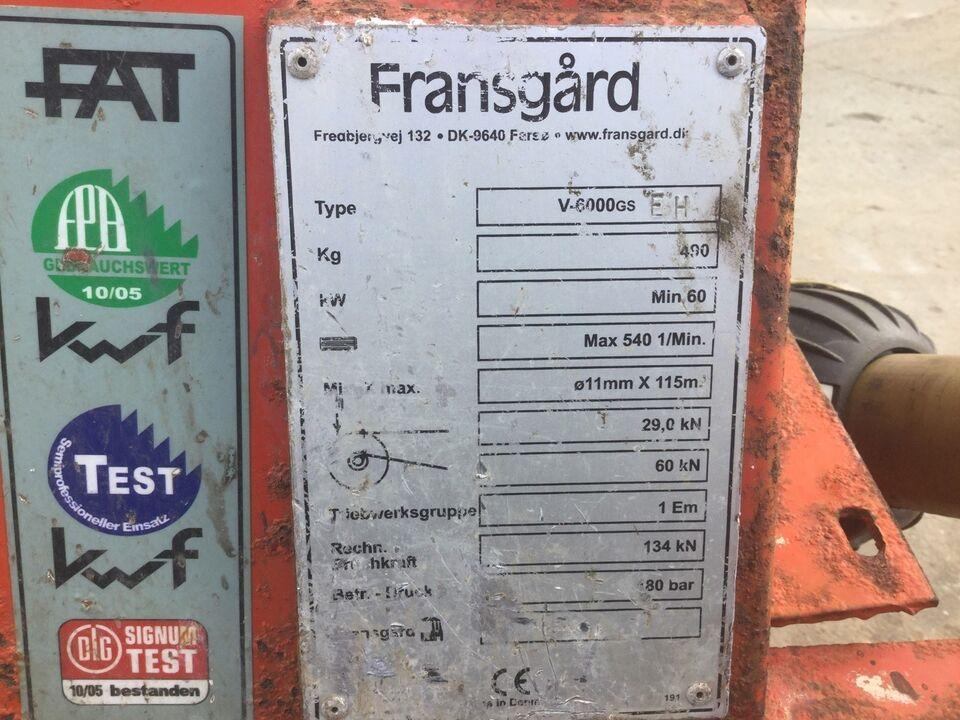 Skovspil, Fransgård