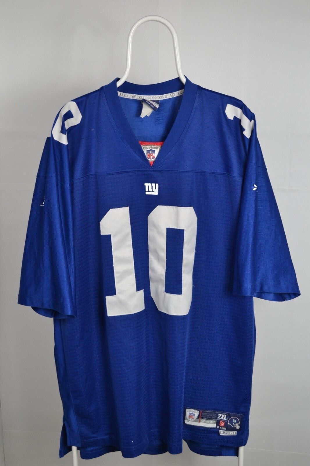 876b3ea1e Jersey NEW YORK GIANTS 2XL XXL REEBOK E MANNING 2005 2011 NFL home ...