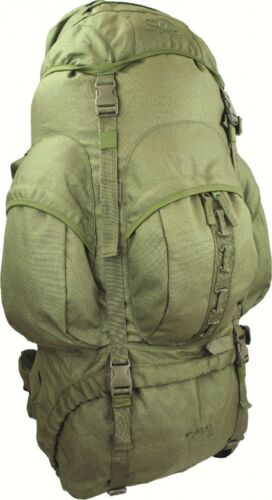 Highlander Military Camping Hiking 100/% Waterproof New Forces 88 Olive Rucksack