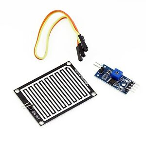 Luftfeuchtigkeit Regentropfen Erkennung Sensor Modul Regen Modul für Arduino ER