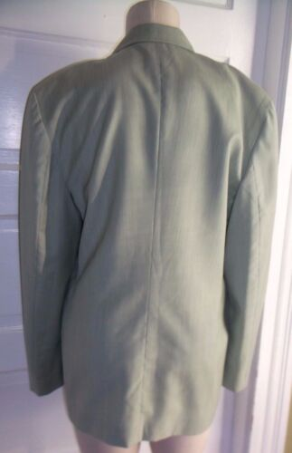 Colors Of United Womens Benetton Coat S Jacket Vintage Blazer Wool Worsted 44 qa5EzERnx