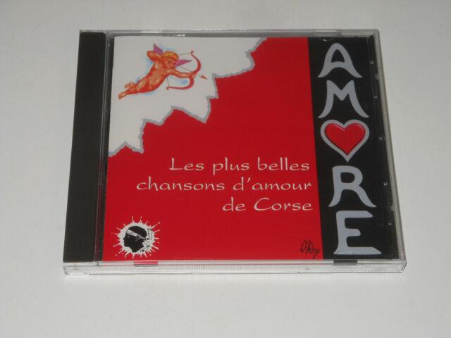 Amore - Chansons D'Amour De Corse - CD - Charles Rocchi - L'Albinu - Tony Toga
