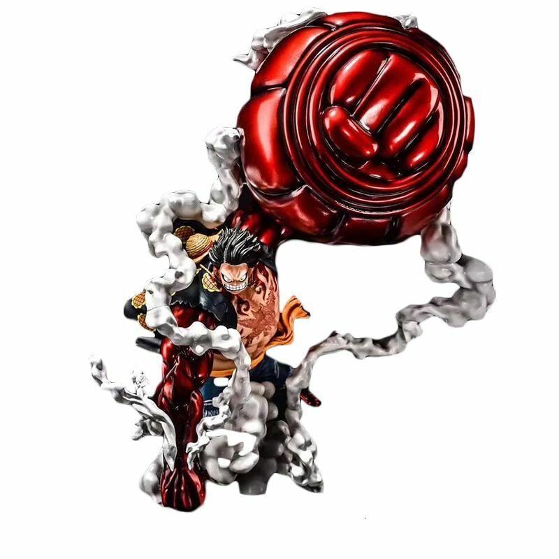 One Piece GK Monkey D Luffy Gear 4 OverGröße 50cm Pvc Anime Action Figure Model