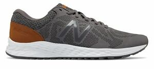 New-Balance-Men-039-s-Fresh-Foam-Arishi-Shoes-Grey-with-Grey-amp-Black
