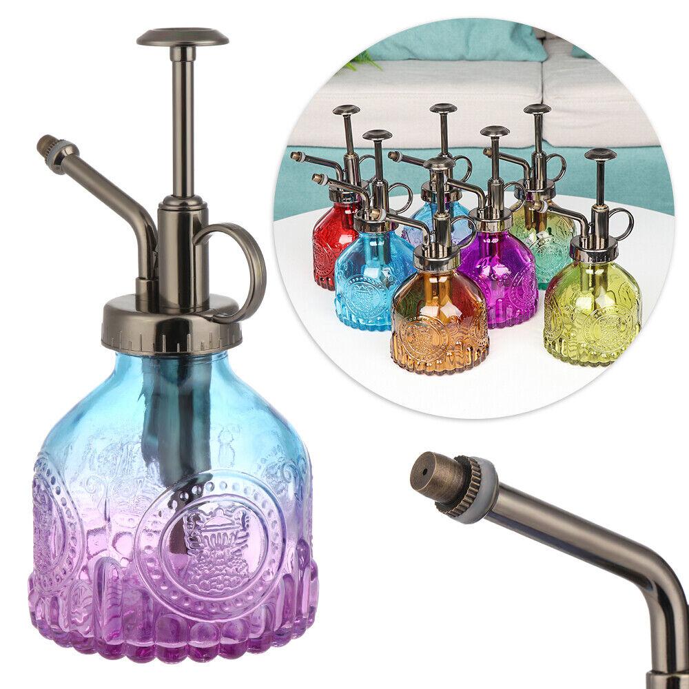 Relief Glass Fine Mist Spray Bottle Water Sprayer Watering Can Gardening Tool