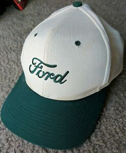 Lubbers Cheney Ks >> Details About Ford Logo Snapback Hat Green Beige Lubbers Cheney Ks