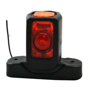 2X-Recovery-Side-Rear-Rubber-Marker-Outline-Led-Red-White-Amber-Lights-Lamp-P5V9